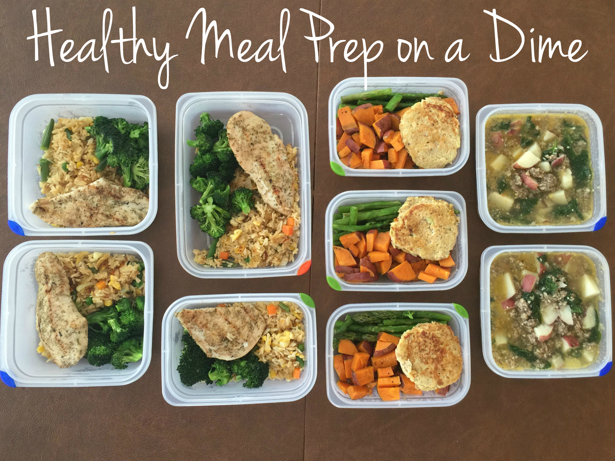 healthy meal prep on a dime sssyrah