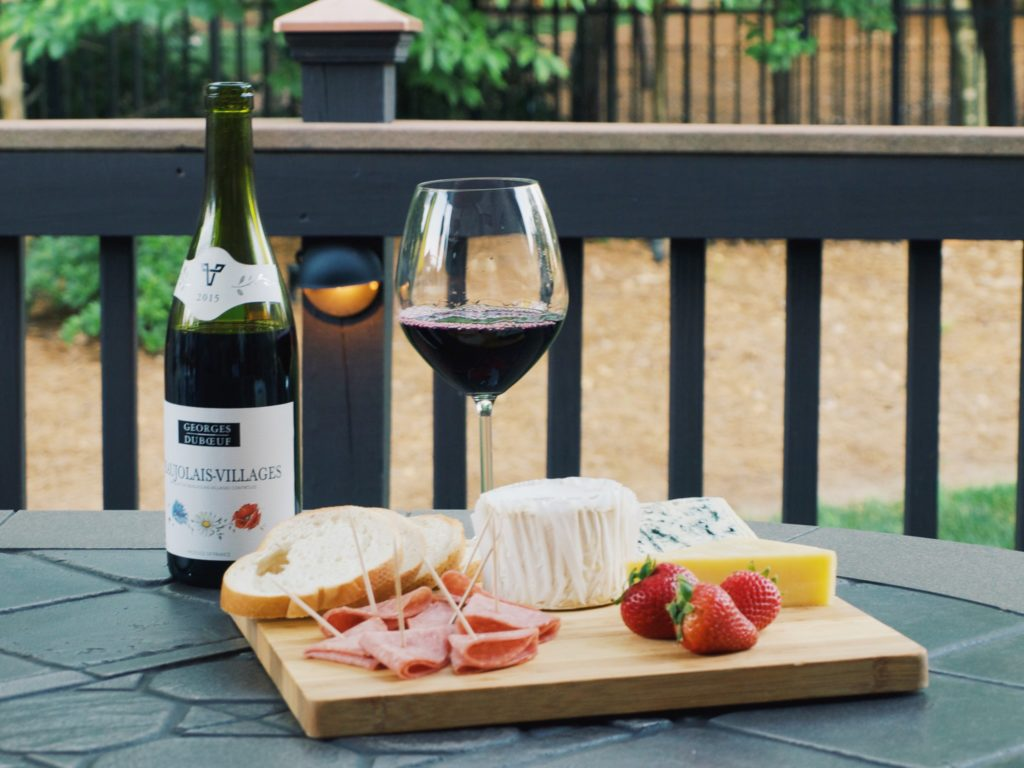 French Wine & Cheese